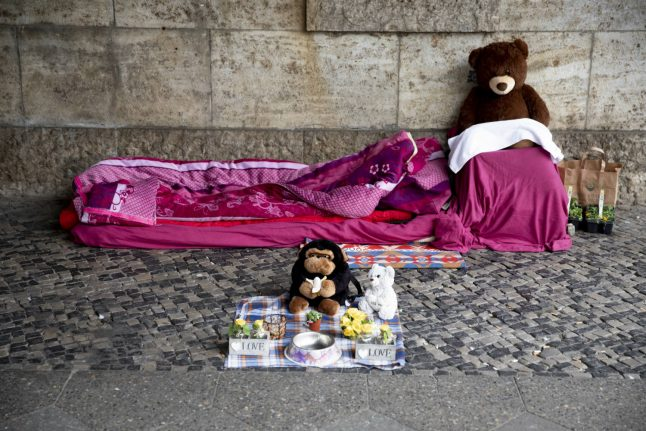 How homeless people in Germany are being supported during the coronavirus crisis