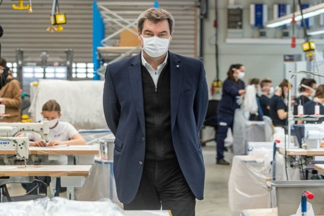 'Highly likely' that Germany will enforce face masks, says Bavarian state premier