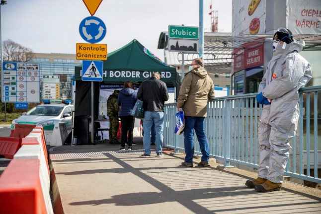 German official asks Poland to ease border restrictions