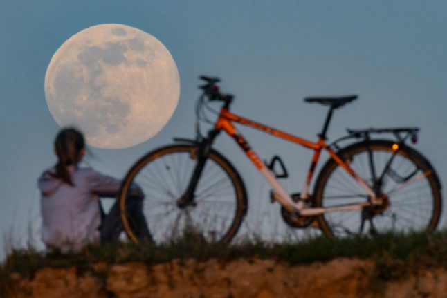 IN PICTURES: Supermoon lights up the sky across Germany
