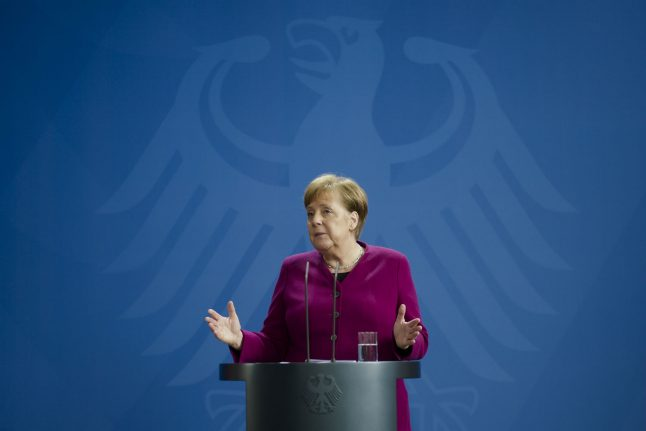 'The situation is fragile': Merkel urges Germans to stick to coronavirus restrictions