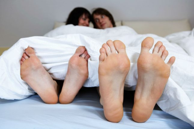What's the advice for sex and dating in Germany during the coronavirus crisis?