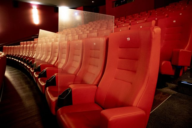 Plexiglass and staggered seating: How cinemas in Germany plan to reopen
