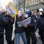 German extremists plan May 1st protests against Covid-19 measures