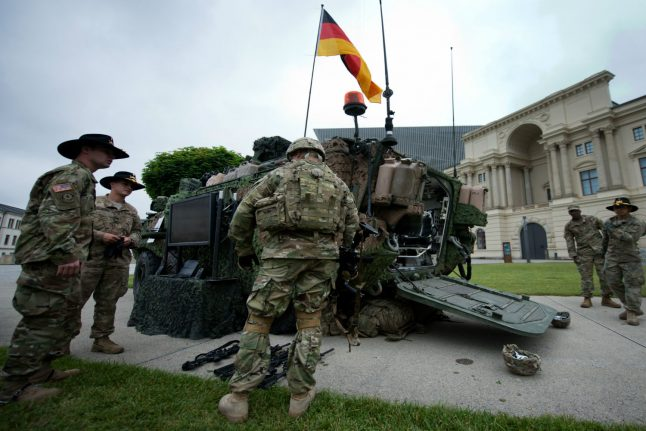 NATO chief defends US amid Germany troop withdrawal report