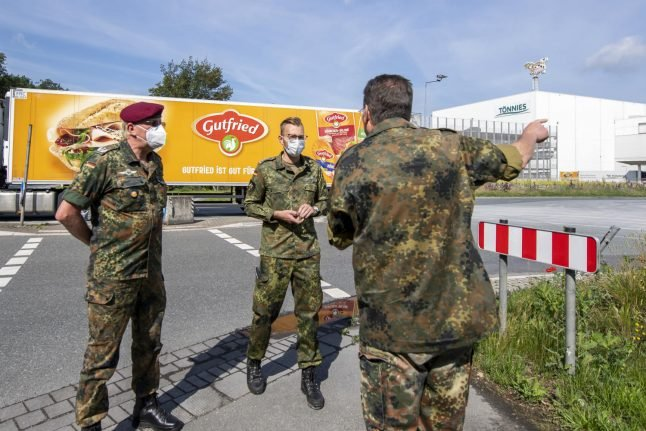 More than 1,300 workers test positive: Germany fights to control coronavirus spread at meat plant