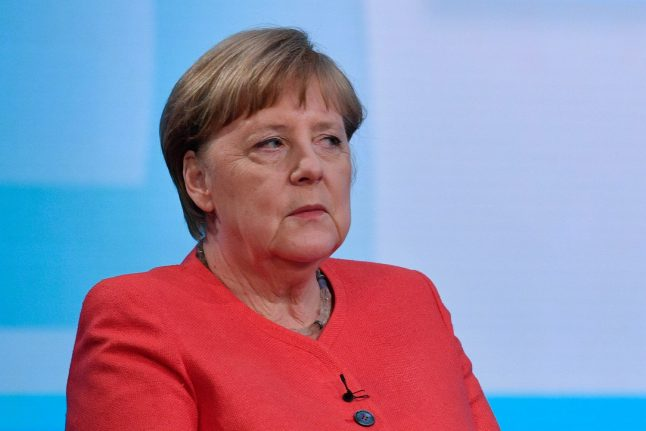 Merkel says she's 'absolutely not' standing for reelection