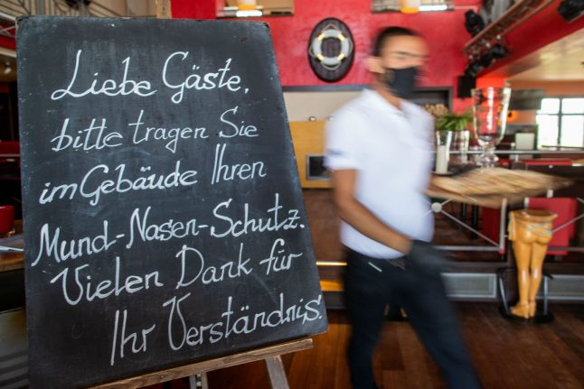 Paper, pens and face masks: What life is like as Germany eases out of the coronavirus crisis