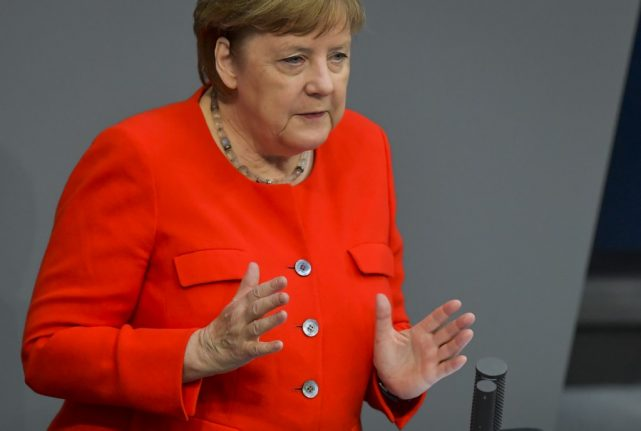 No war metaphors: How Germany's politicians talk about the coronavirus pandemic