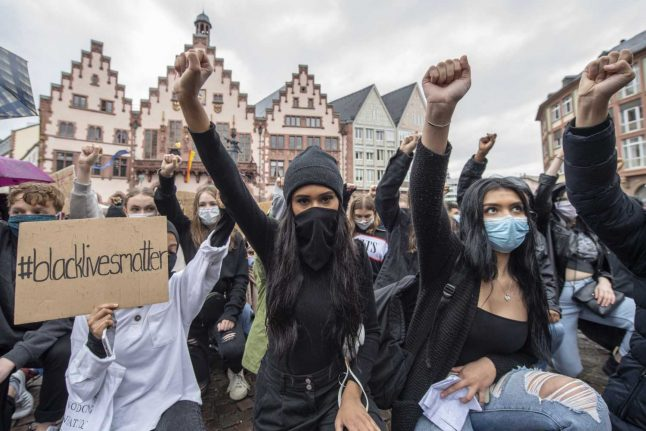 In Pictures: Powerful images from anti-racism protests across Germany