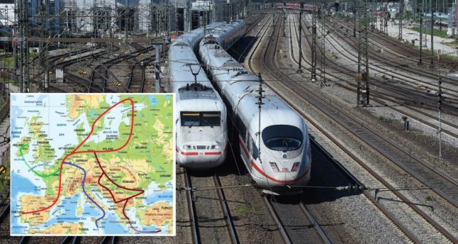 Paris to Berlin in four hours: The plan for Europe's ultra-rapid train network