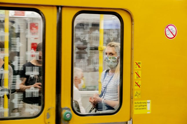 Berlin to fine people who flout coronavirus face mask rules
