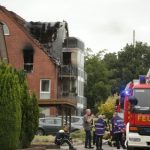 Three killed in western Germany as microlight plane crashes into house