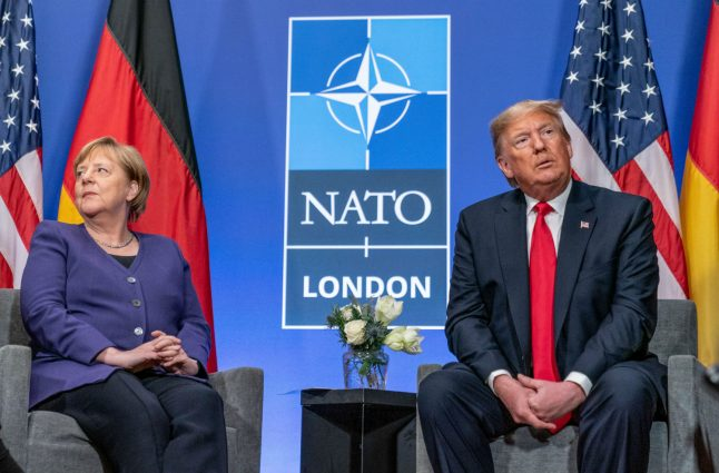 Trump calls Germany 'delinquent' as divide with Merkel deepens over US troop pullout