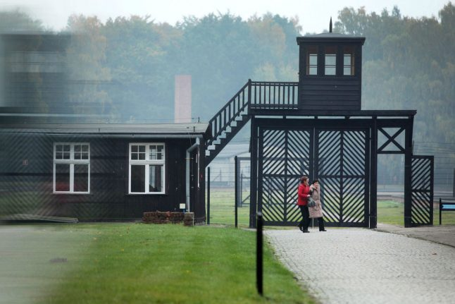 Former Nazi camp guard, 95, charged in Germany