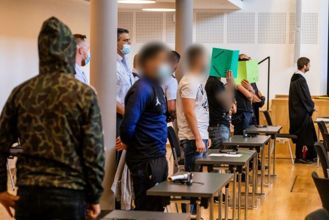 Jail for refugees who gang-raped woman in Freiburg