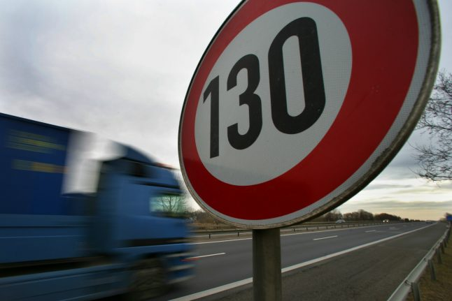 Germany's Greens propose speed limit on Autobahn if elected