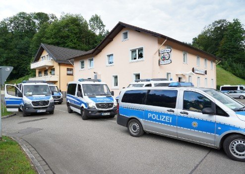 Germany's 'Black Forest Rambo' nabbed after six-day manhunt