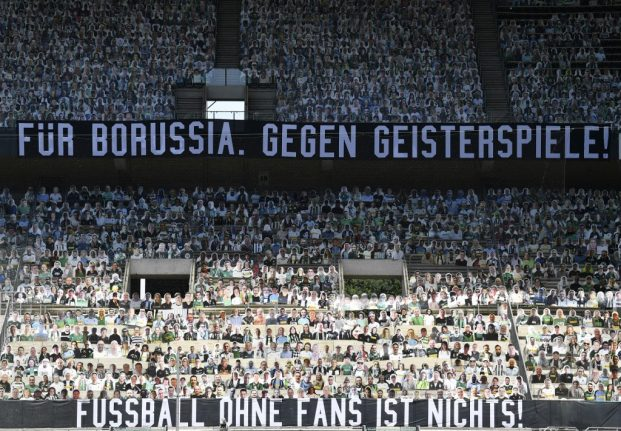 German Bundesliga issues guidelines for fans' return to stadiums