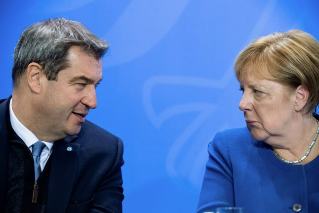 Is Bavaria's leader on course to become Germany's next chancellor?