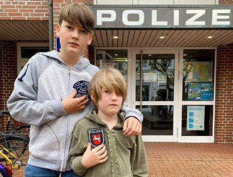 Young boy earns praise for cracking crime on North Sea holiday