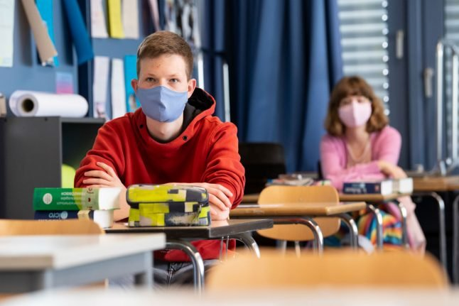 Bavaria to make face masks mandatory in secondary school classrooms
