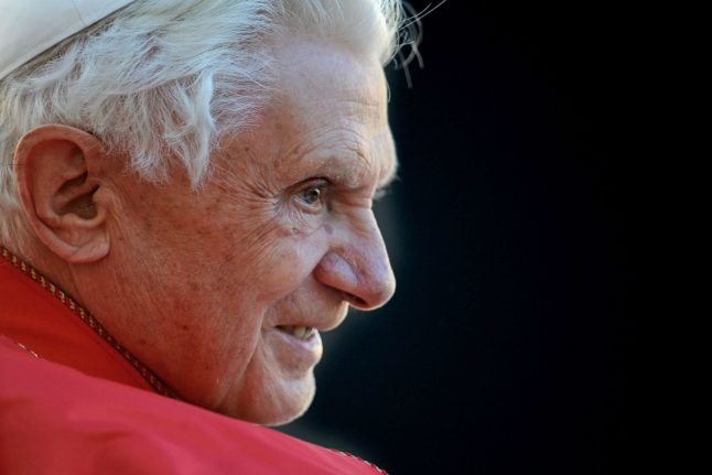 Former German Pope Benedict in 'extremely frail' condition
