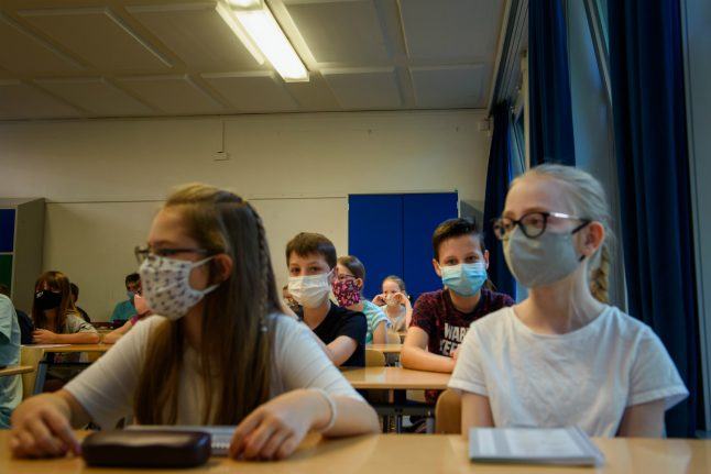 More schools in Germany reopen to pupils – but with strict coronavirus rules