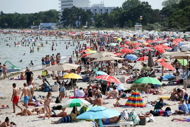 Germany records hottest temperature of year as country braces for more heat
