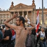 Germany slams 'unacceptable' attempt to storm Reichstag
