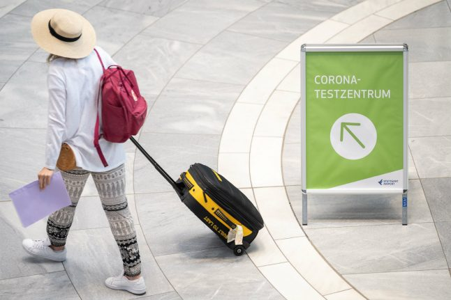 Can you be forced to take a coronavirus test after returning to Germany from a risk country?