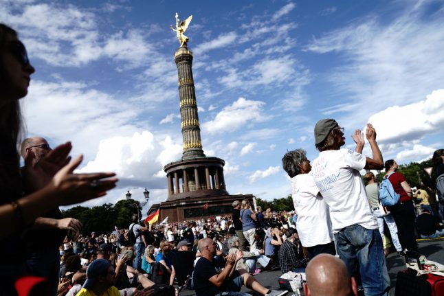 Three-quarters of Germans 'don't support coronavirus protests'