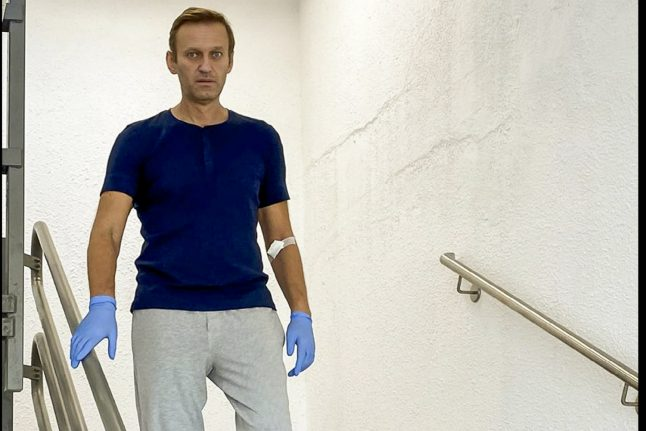 Russian opposition leader Alexei Navalny discharged from Berlin hospital