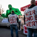 This is where workers around Germany are striking on Tuesday