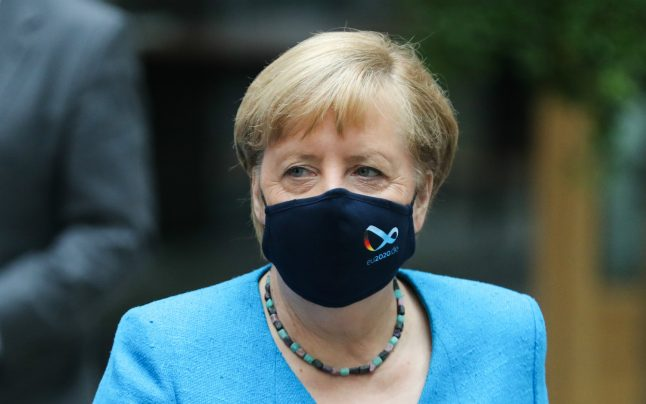 Merkel warns coronavirus cases in Germany 'could leap up to 19,200 daily by Christmas'