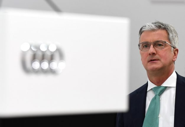 Ex-Audi boss to stand trial in Germany for 'dieselgate'