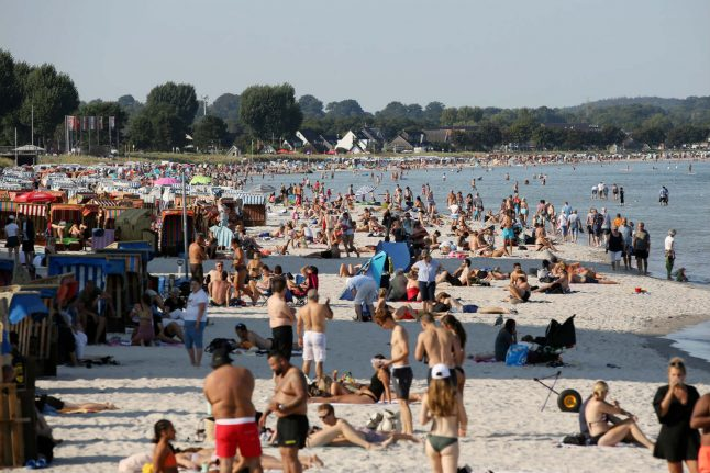 Temperatures of up to 34C to hit Germany on Tuesday