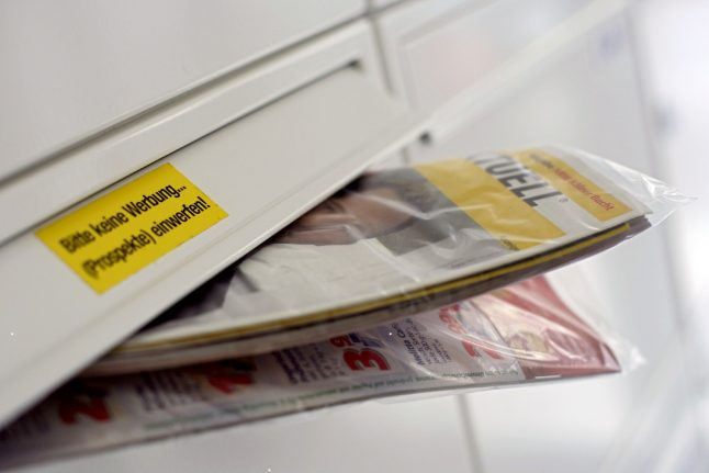 'Please no flyers': Should postal advertising be more strictly controlled in Germany?