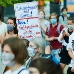 Berlin to require face masks at demonstrations