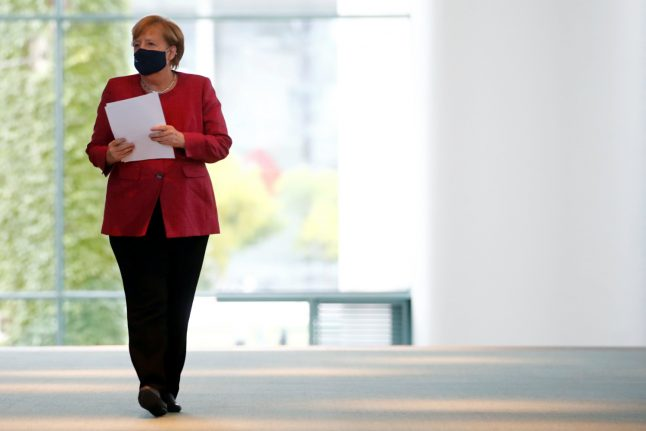 Merkel plans first face-to-face Covid-19 meeting with state leaders since March