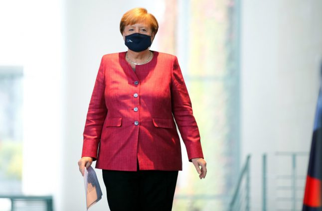 'Think of elderly relatives': Merkel appeals to young people and warns of tougher Covid restrictions in Germany