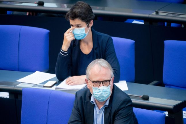 Masks made compulsory in German Bundestag amid rise in Berlin Covid-19 cases