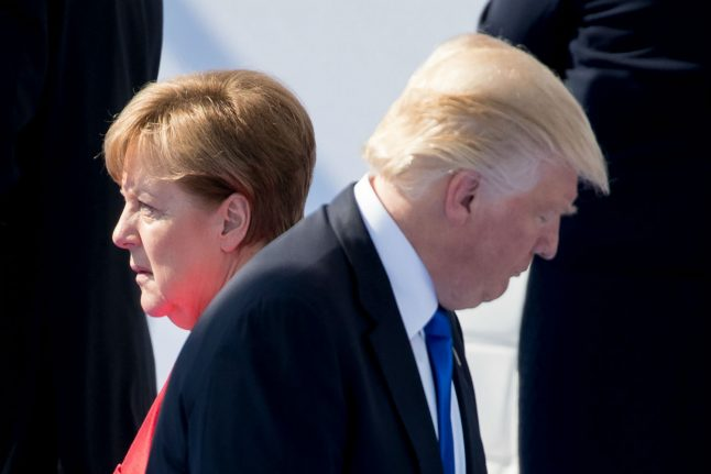 Merkel sends Trump 'good wishes' and hopes for quick recovery