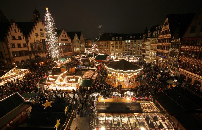 Frankfurt cancels Christmas market as infections rise