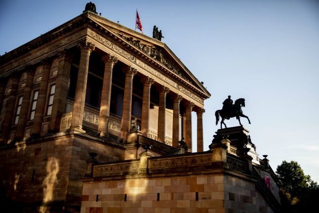 UPDATE: Mysterious vandals damage dozens of works of art on Berlin's Museum Island