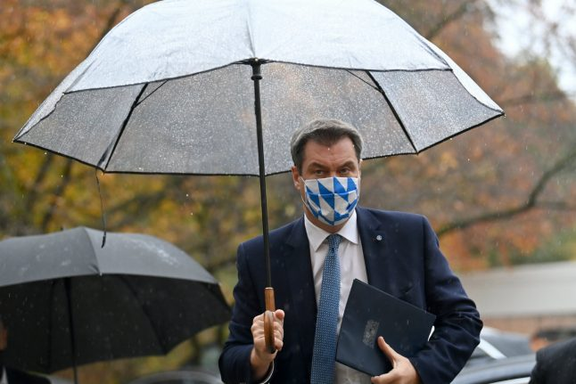 Bavaria set to tighten rules on private gatherings
