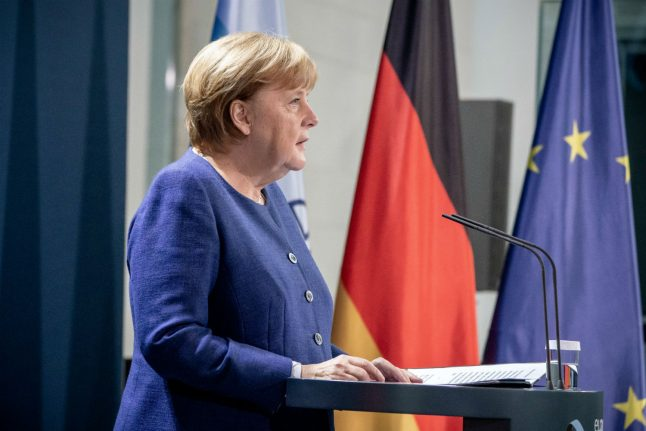 Merkel pledges to 'stand together' with US after election