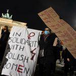 'Traumatised' Poles look to Germany after abortion ruling