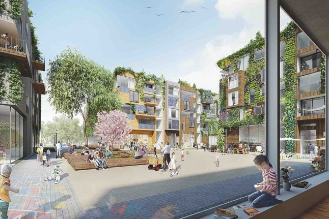 These are the plans for affordable (and sustainable) housing at Berlin's former Tegel airport