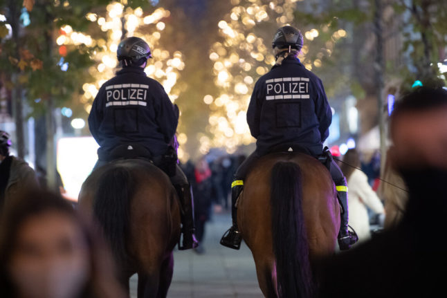 German residents told not to call police over every Covid Christmas rule break